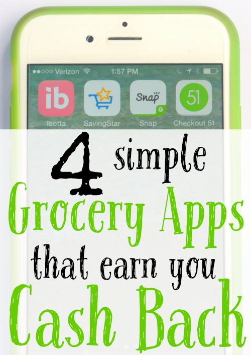 4 simple grocery apps that earn you cash back