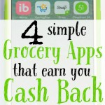 Earn Cash Back with these Four Simple Grocery Apps