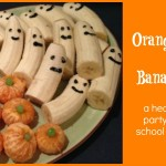 A Simple & Healthy Halloween Party Treat Idea
