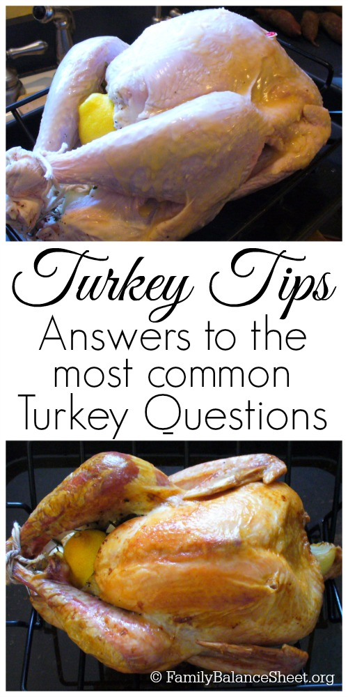 Turkey Tips Answers to the most common turkey questions
