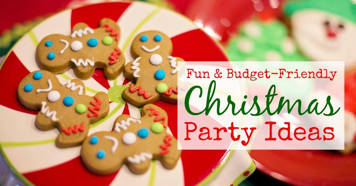 10 Christmas Party Ideas   Family Balance Sheet