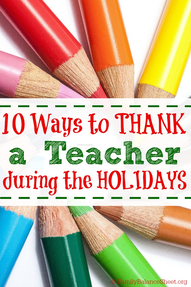 10 Teacher Gifts