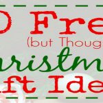 30 Free but Thoughtful Christmas Gift Ideas