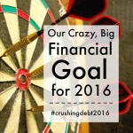 Our Big Financial Goal for 2016