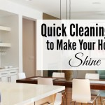 Keeping a Clean House without Stressing Out