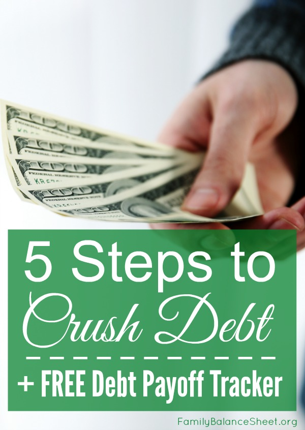 5 Steps to Crush Debt