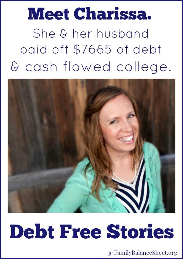 Charissa's Debt Free Story