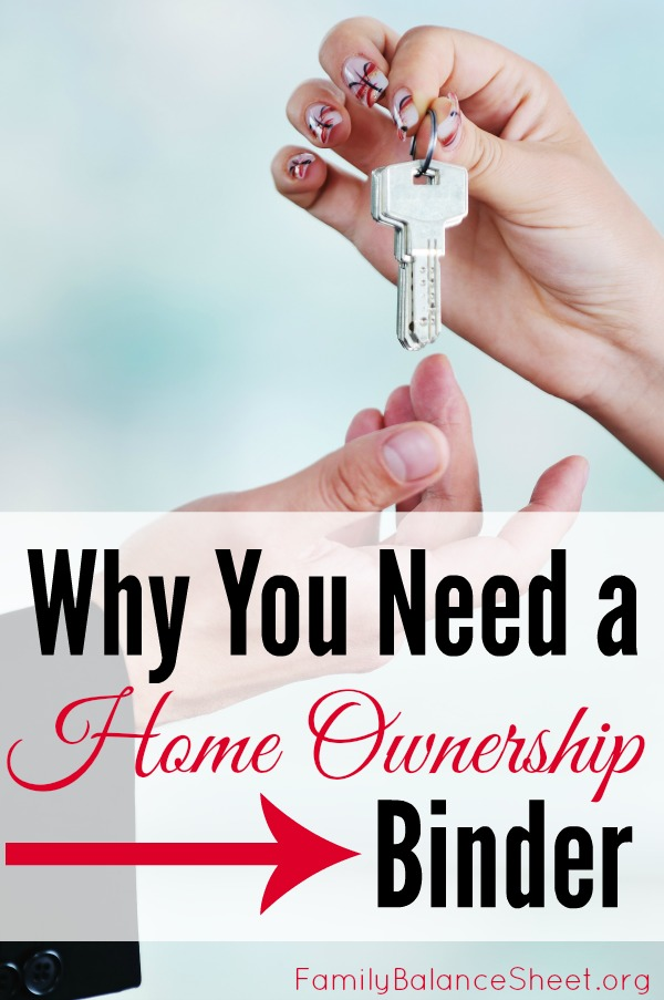 Home Ownership binder