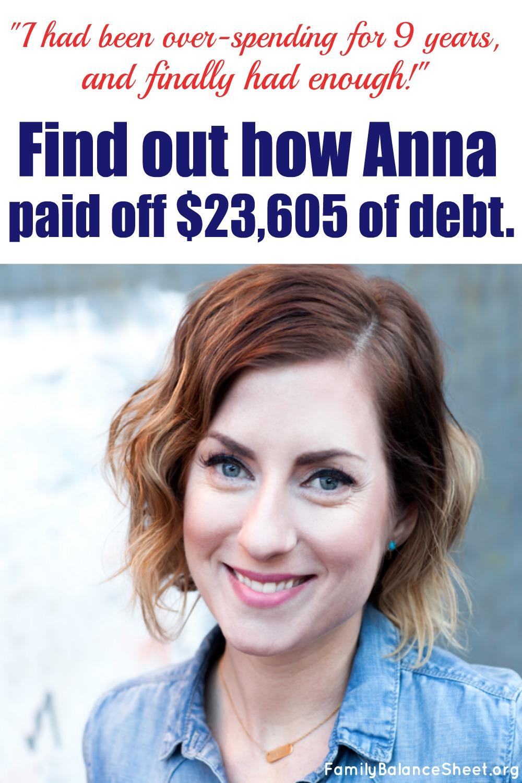 Anna's Debt Free Story
