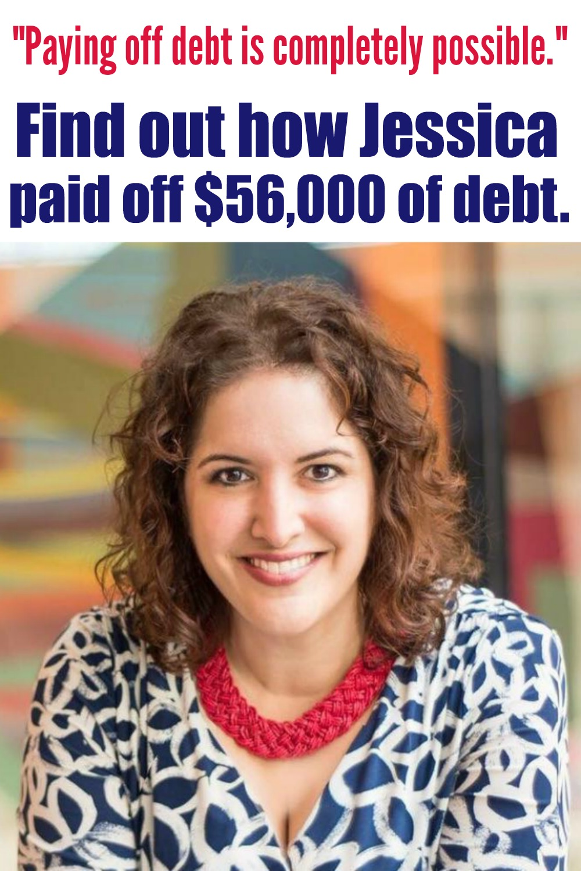 Jessica's debt free story