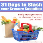 How to Slash your Grocery Spending in 31 Days