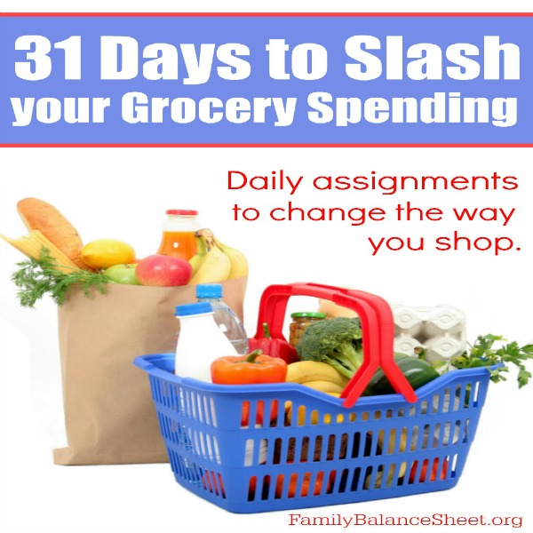 31 Days to Slash your Grocery Spending sq