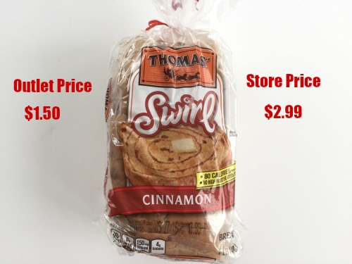 grocery outlet bread prices 2