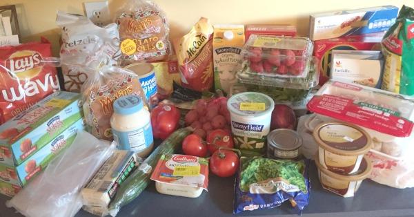grocery shopping week 3