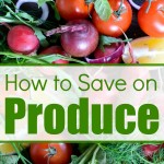 How to Save Money on Produce