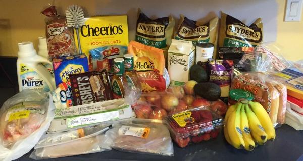 week 4 grocery shopping