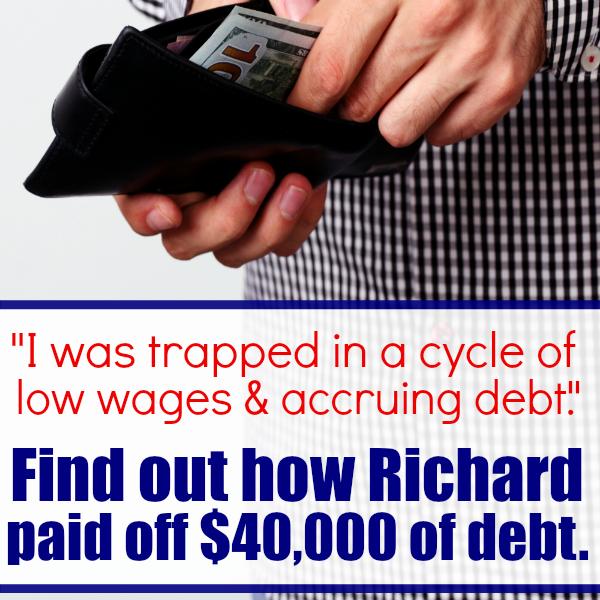 Richard's Debt Free Story sq