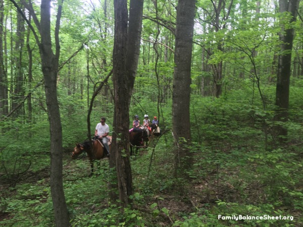 Shenandoah Valley Horse tour