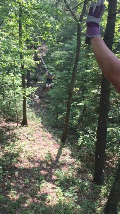 Zip Lining screen shot