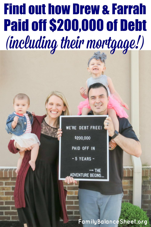 Drew & Farrah's Debt Free Story
