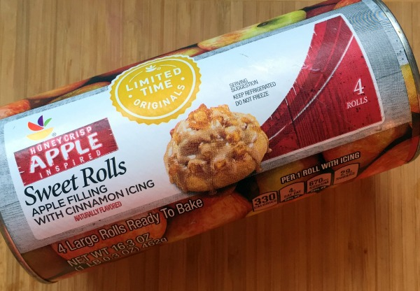 Honeycrisp Apple Inspired Sweet Rolls