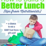 How to Build a Better Lunch (tips from Nutritionists)