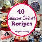 40 Summer Dessert Recipes