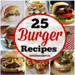 25 Burger Recipes