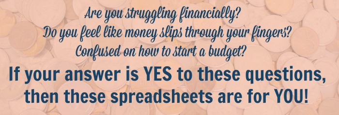 Family Budget Spreadsheets