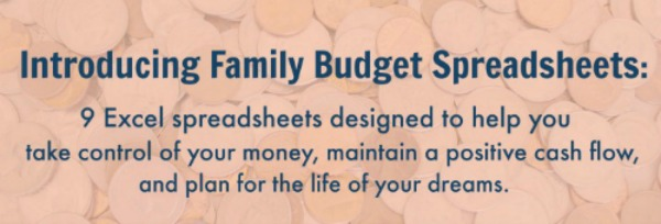 Introducing: Family Budget Spreadsheets