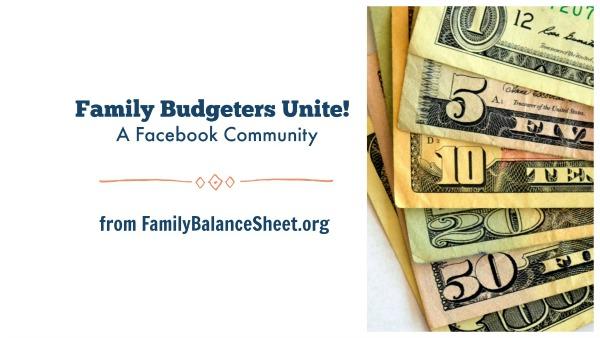 Family Budgeters Unite!