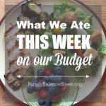 What We Ate This Week 06.16.18