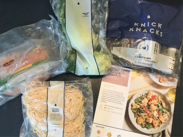 Blue Apron Chicken Lo Mein