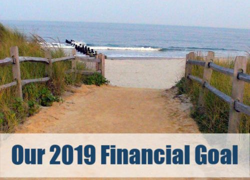 Our 2019 Financial Goal