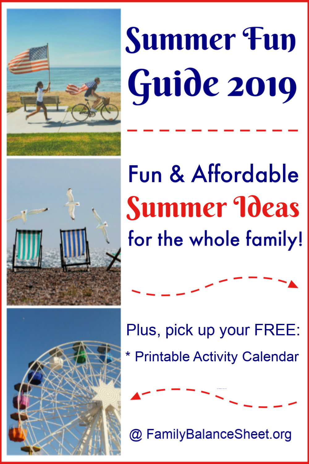 Summer Fun Guide 2019 - Family Balance Sheet